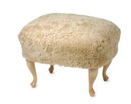 Furniture SheepskinCovered Seating portrait 6