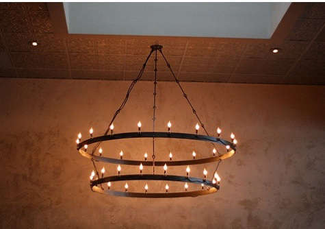 form and reform chandelier 2