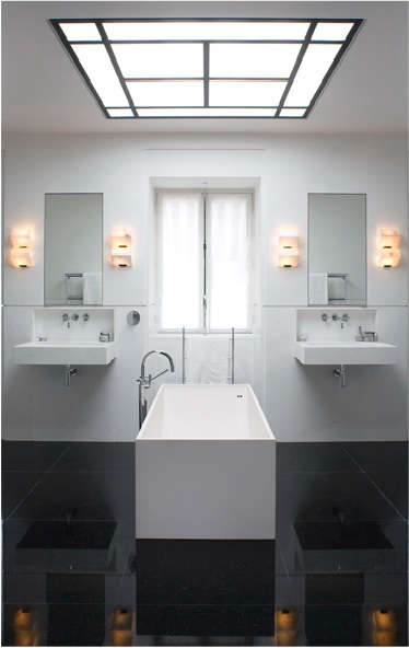french double sink black sink