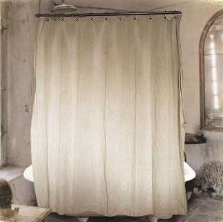french general shower curtain