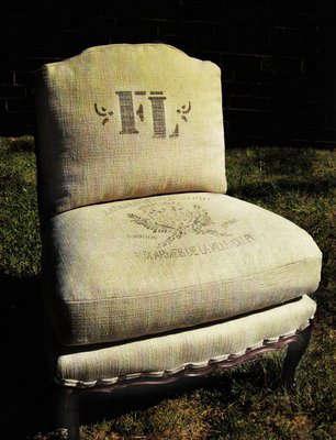 Furniture Graphic Grain Sack Upholstery  portrait 5