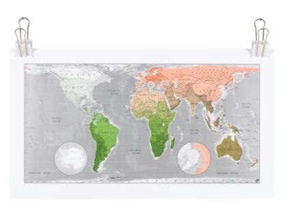 future maps paper map