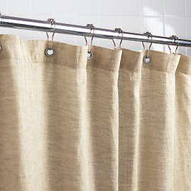 Bath Natural Shower Curtain Roundup portrait 2