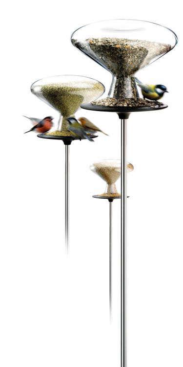 Outdoors Modern Bird Feeders portrait 7