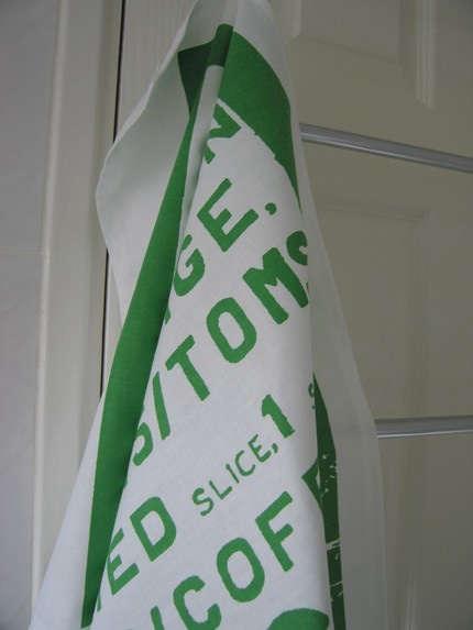 green tea towel ps
