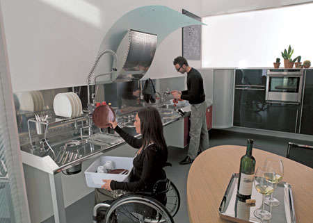 hability wheelchair accessible kitchen31