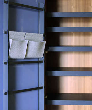 henrybuilt wardrobe detail 5 door system and shoe storage