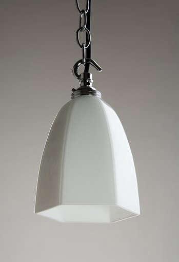 holloways milk glass pendant