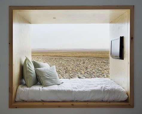hotel aire de bardenas bed
