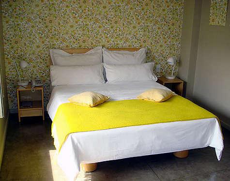 hotel home yellow throw