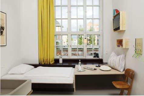 Hotels  Lodging Hotel Michelberger in Berlin portrait 3