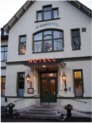 Hotels  Lodging Hotel Sigtuna in Sweden portrait 3