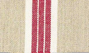 ian mankin red stripe oilcloth