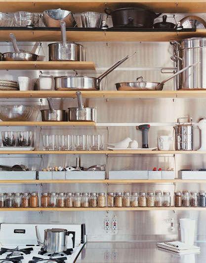 Kitchen Stainless Steel Backsplashes portrait 9