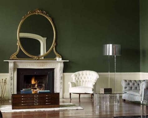 irish green living room