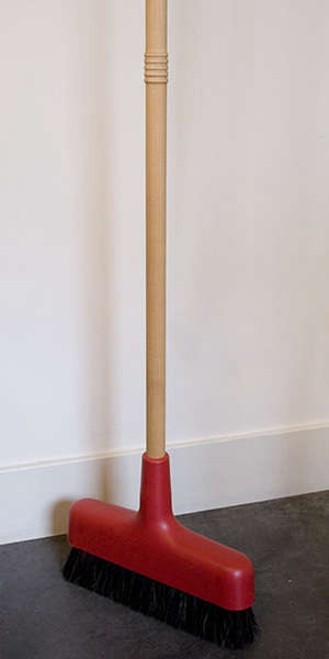 Domestic Science Iris Hantverk Broom at Rose and Radish portrait 3