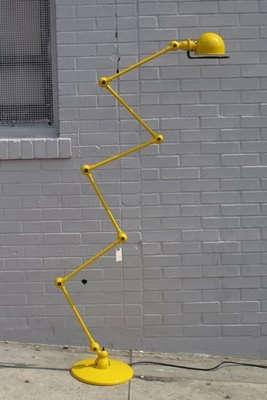 jielde loft yellow lamp