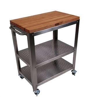 john boos kitchen cart chefs catalog