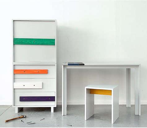 katarina hall dresser and table