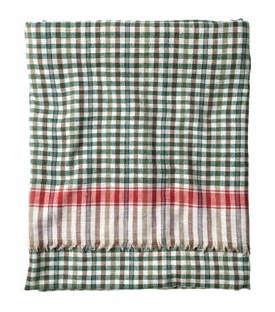 khadi check picnic blanket