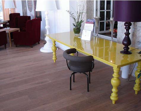 kranzbach yellow table
