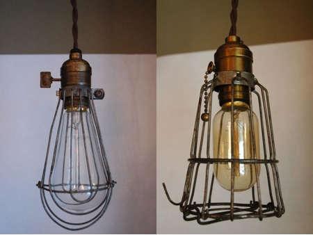 Lighting Vintage Cage Lights portrait 3