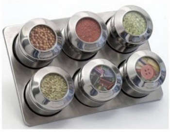 Kitchen Magnetic Spice Racks portrait 6