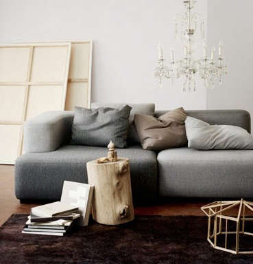 Furniture HighLow Sectional Sofa portrait 3