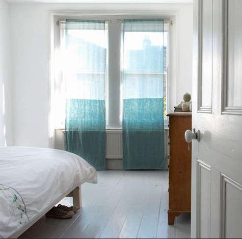Walls Windows  Floors JewelToned Voile Curtains portrait 3