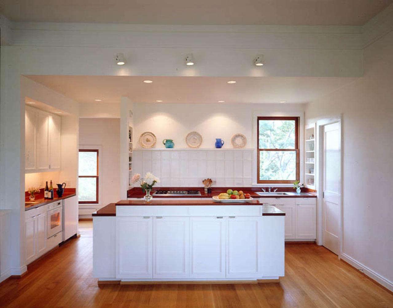 Architect Visit Jerome Buttrick Kitchen portrait 3