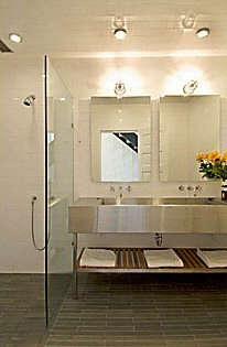 Architect Visit Malcolm Davis Bathroom portrait 4