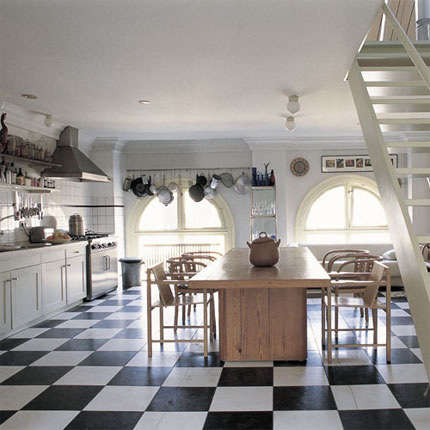 marie claire maison checkered floor