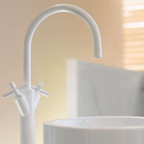Faucets amp Fixtures White Faucets portrait 4