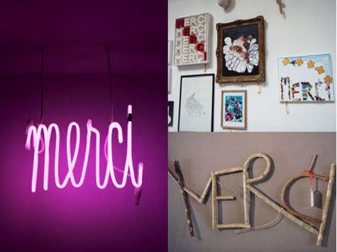merci in paris neon light