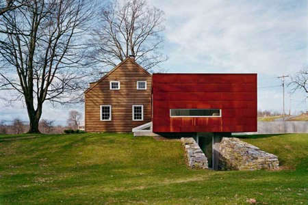 Architect Visit Messana ORorke Ten Broeck Cottage portrait 2