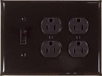Design Sleuth Black Switchplates portrait 6