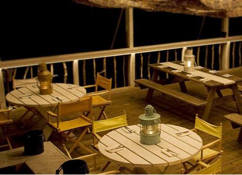 montauk lodge picnic table
