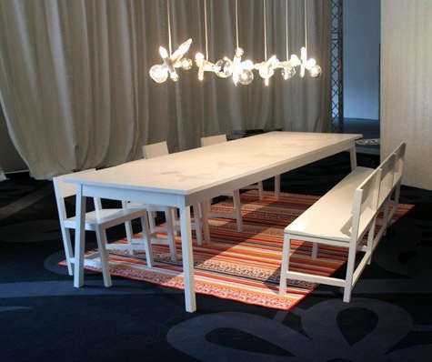 moooi shaker table and chairs