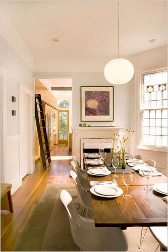 mork ulnes dining room