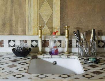 mosaic sink 1st option