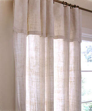 Walls Windows  Floors Natural Hemp Curtains from the French General portrait 5