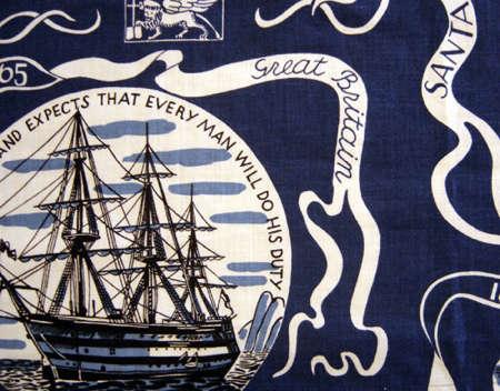 Fabrics  Linens Navigare by Josef Frank portrait 3