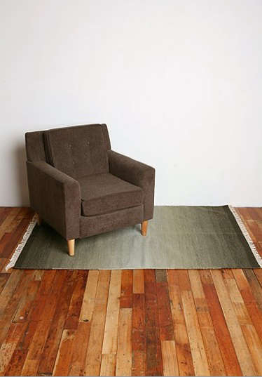 ombre rug urban outfitters with chair