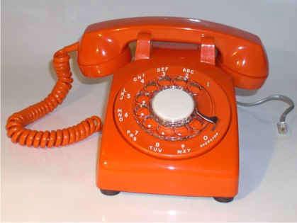 Back to Work: Retro Telephones portrait 3