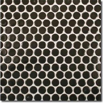 Tile  Countertop Basic Black Mosaic Tiles portrait 8