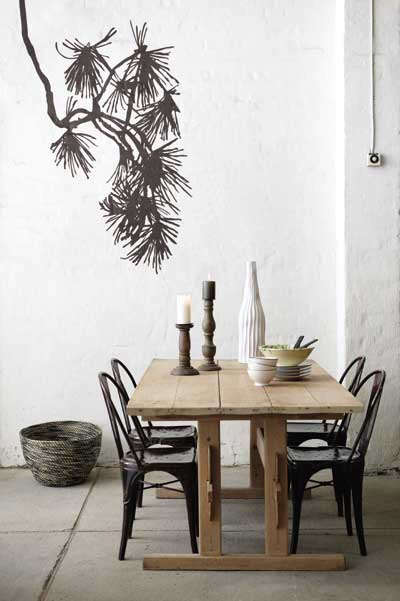 pinetree decal ferm living