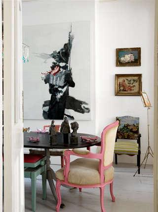 Palette  Paints Pink portrait 17