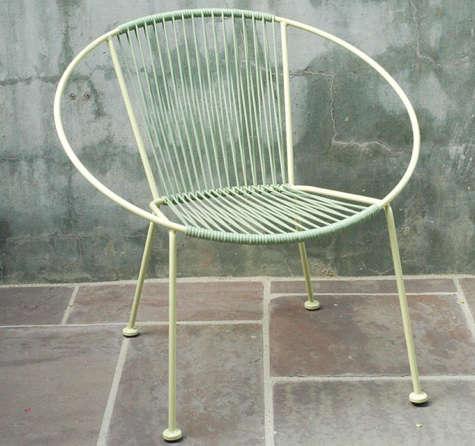 plain air green hoop chair