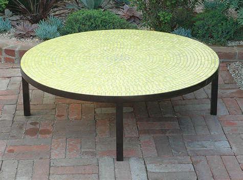plain air green low table