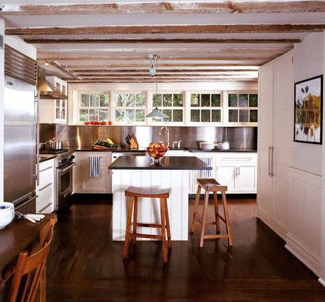 Kitchen Stainless Steel Backsplashes portrait 4